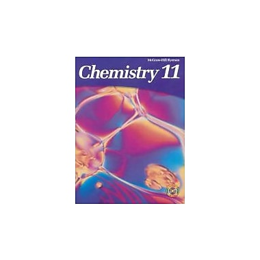 McGraw-Hill Ryerson Chemistry 11, New Book (9780070886810)