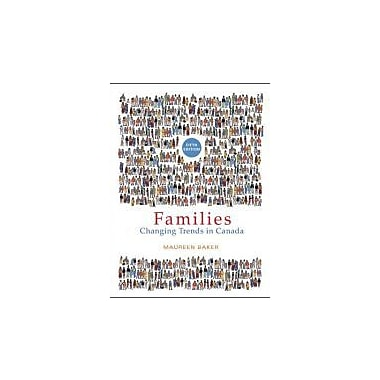 FAMILIES: Changing Trends in Canada (Fifth Edition), Used Book (9780070916852)