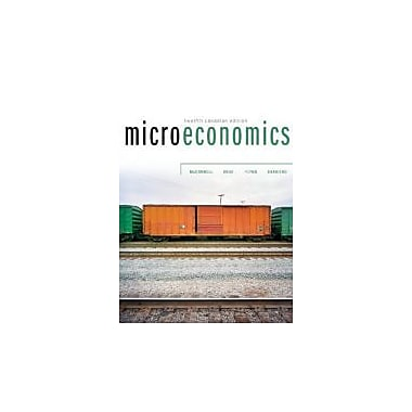 Microeconomics, 12th Cdn Edition w/ Connect Access Card, Used Book (9780070919525)
