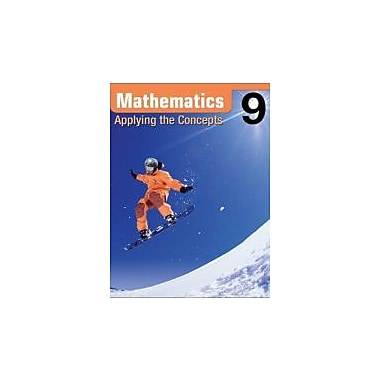 Mathematics Applying the Concepts 9, Used Book (9780070922426)