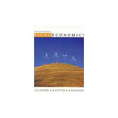 Microeconomics, Used Book (9780070946446)