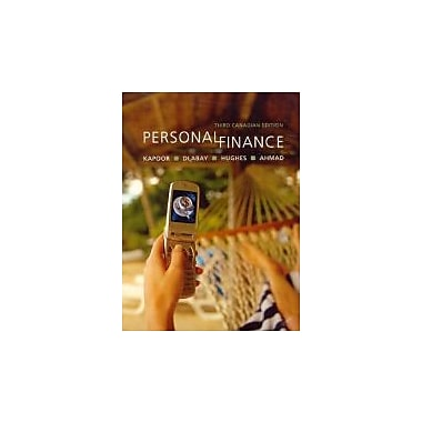 Personal Finance, New Book (9780070951631)