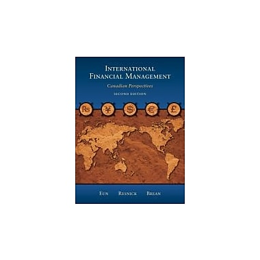 International Financial Management: Canadian Perspectives, 2nd Edition, New Book (9780070964907)