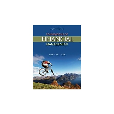 Foundations of Financial Management, 8th Cdn Edition, New Book (9780070965447)