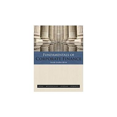 Fundamentals of Corporate Finance, Seventh Cdn Edition, Used Book (9780070969766)