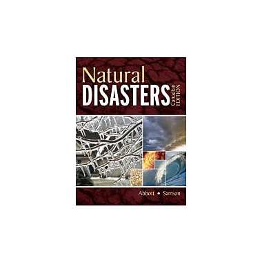 Natural Disasters, New Book (9780070980372)
