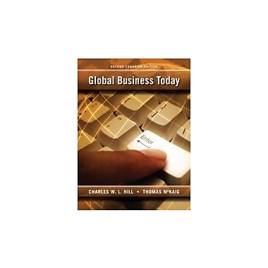Global Business Today, New Book (9780070984110)