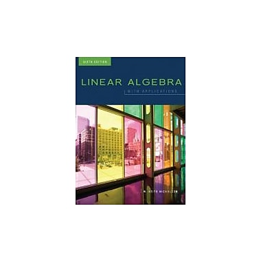 Linear Algebra with Applications, 6th Cdn Edition with iStudy Access Card, Used Book (9780071050838)
