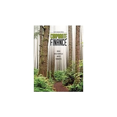 Corporate Finance with Connect Access Card, Sixth Canadian Edition [Hardcover], New Book (9780071091350)