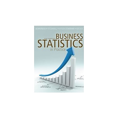Business Statistics in Practice with Connect Access Card, Second Canadian Edition, New Book (9780071091404)
