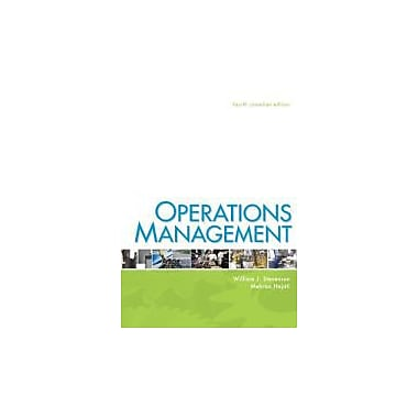 Operations Management with Connect Acces Card, New Book (9780071091428)