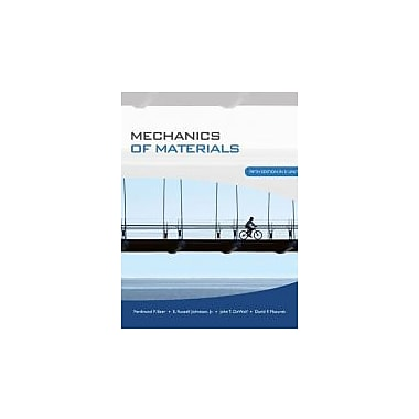 Mechanics of Materials, New Book (9780071284226)