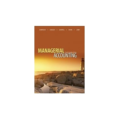 MANAGERIAL ACCT.W/ISTUDY ACCC, New Book (9780071318891)