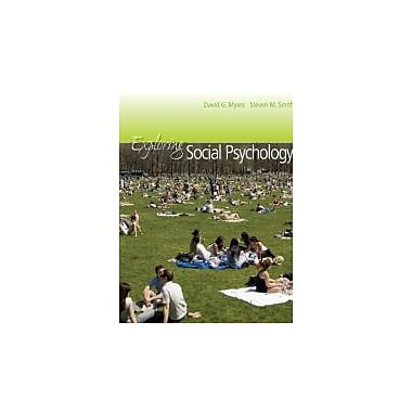 Exploring Social Psychology + CONNECT w/eText [Paperback] by Myers, David