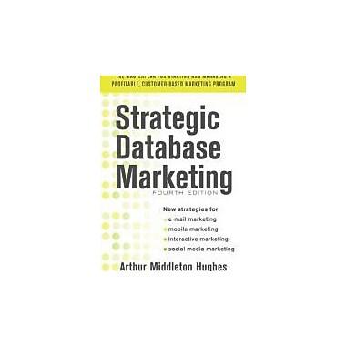 Strategic Database Marketing, Used (9780071773485)
