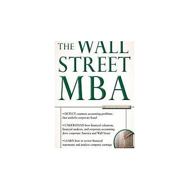 The Wall Street MBA, Second Edition, Used Book (9780071788311)