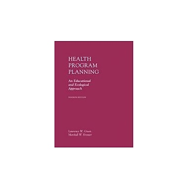 Health Program Planning: An Educational and Ecological Approach, Used Book (9780072556834)