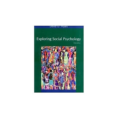 Exploring Social Psychology, Used Book (9780072842128)