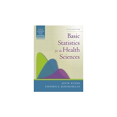 Basic Statistics for the Health Sciences, Used Book (9780072844030)