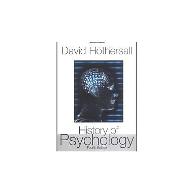 History of Psychology, New Book (9780072849653)