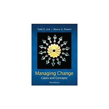 Managing Change: Cases and Concepts, New Book (9780073102740)
