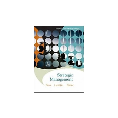 Strategic Management: Creating Competitive Advantages, New Book (9780073124575)