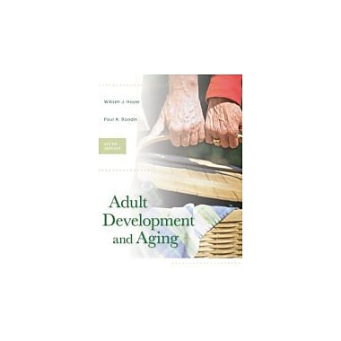 Adult Development and Aging, New Book (9780073128542)