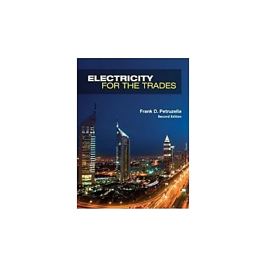 Electricity for the Trades, New Book (9780073134314)