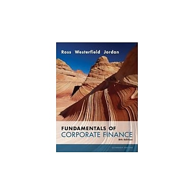 Fundamentals of Corporate Finance Alternate Value 8th Edition, Used Book (9780073282114)