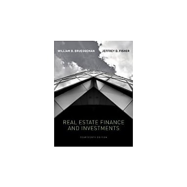 Real Estate Finance & Investments (Real Estate Finance and Investments), New Book (9780073377339)