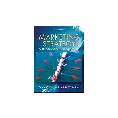Marketing Strategy: A Decision Focused Approach, New Book (9780073381152)