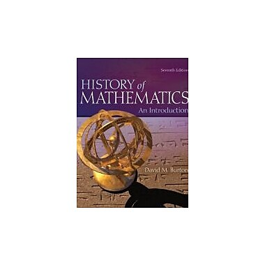 The History of Mathematics: An Introduction, New Book (9780073383156)