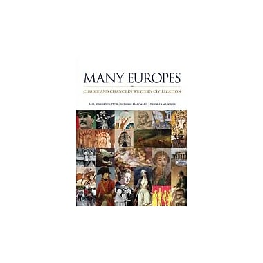 Many Europes: Choice and Chance in Western Civilization, New Book (9780073385457)
