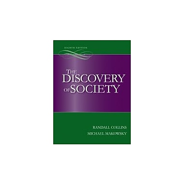 The Discovery of Society, 8th Edition, Used Book (9780073404196)