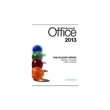The O'Leary Series: Microsoft Office 2013, Used Book (9780073519371)