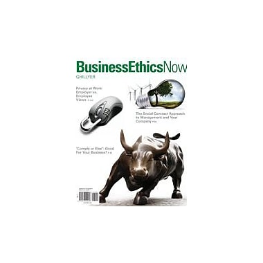 Business Ethics Now, New Book (9780073524696)