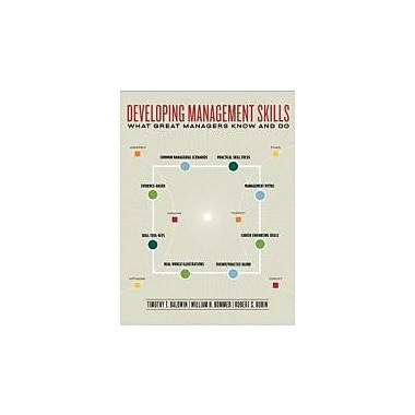 Developing Management Skills: What Great Managers Know and Do, New Book (9780077225957)