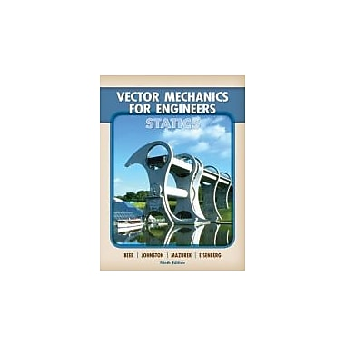 Vector Mechanics for Engineers: Statics, Used Book (9780077275563)