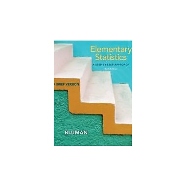 Elementary Statistics, Brief with Data CD and Formula Card, Used Book (9780077567668)