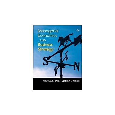 Managerial Economics & Business Strategy with Connect Plus (The Mcgraw-Hill Series Economics), New Book (9780077804800)