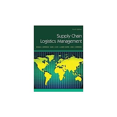 Supply Chain Logistics Management, New Book (9780078024054)
