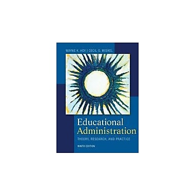 Educational Administration: Theory, Research, and Practice, New Book (9780078024528)