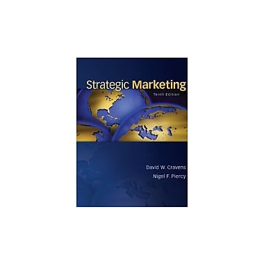 Strategic Marketing, Used Book (9780078028908)