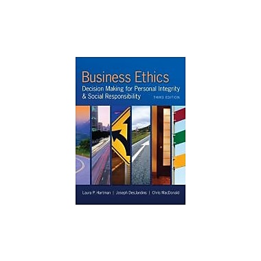 Business Ethics: Decision Making for Personal Integrity & Social Responsibility, New Book (9780078029455)