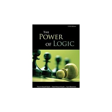 The Power of Logic, New Book (9780078038198)