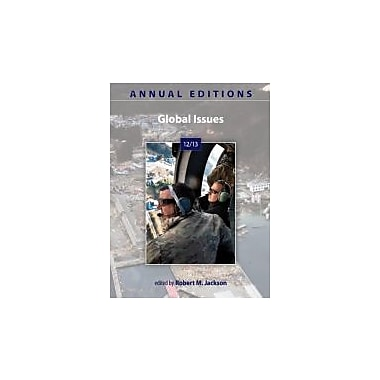 Annual Editions: Global Issues 12/13, New Book (9780078051180)