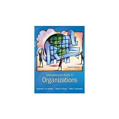 Interpersonal Skills in Organizations, New Book (9780078112560)