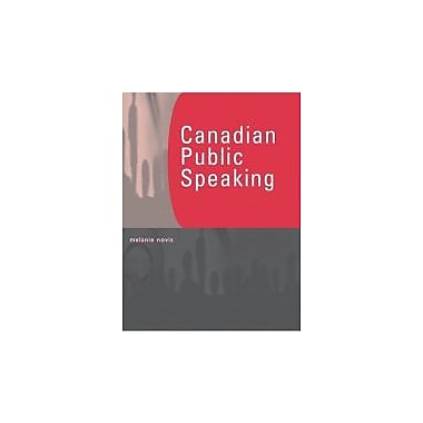 Canadian Public Speaking, Used Book (9780130358301)