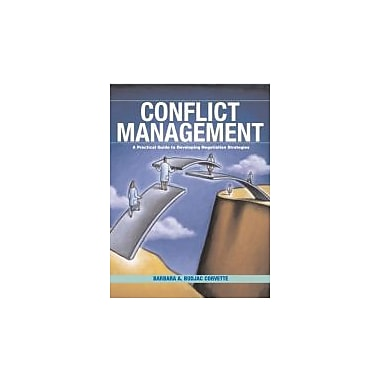 Conflict Management: A Practical Guide to Developing Negotiation Strategies, Used Book (9780131193239)