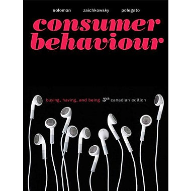Consumer Behaviour: Buying, Having, and Being, 5th Canadian Edition w/MyMarketingLab, New (9780131384323)